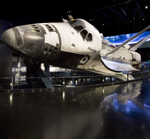 space shuttle simulator at kennedy space center - photo #31