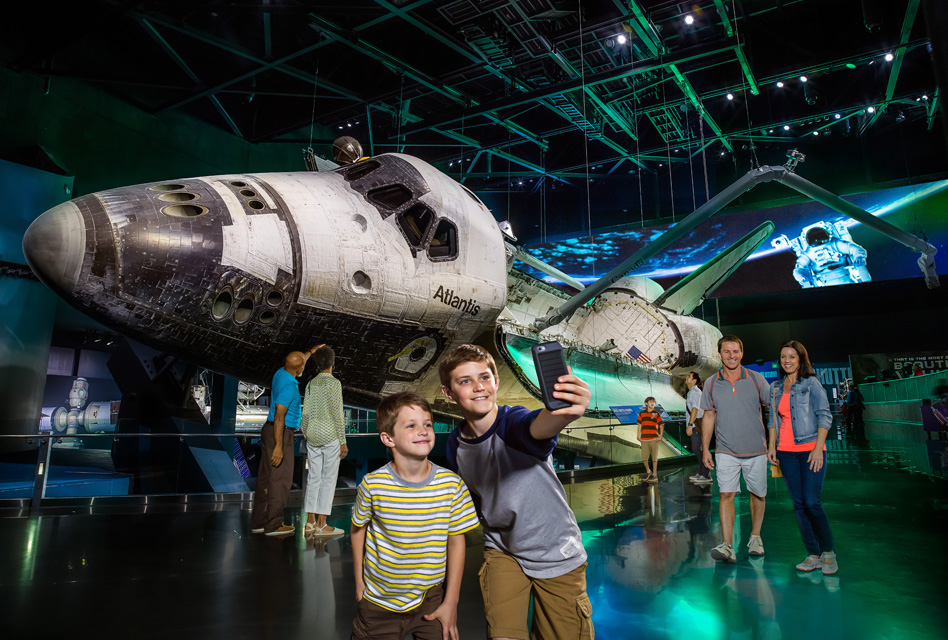 Space Shuttle Atlantis Zone | Kennedy Space Center