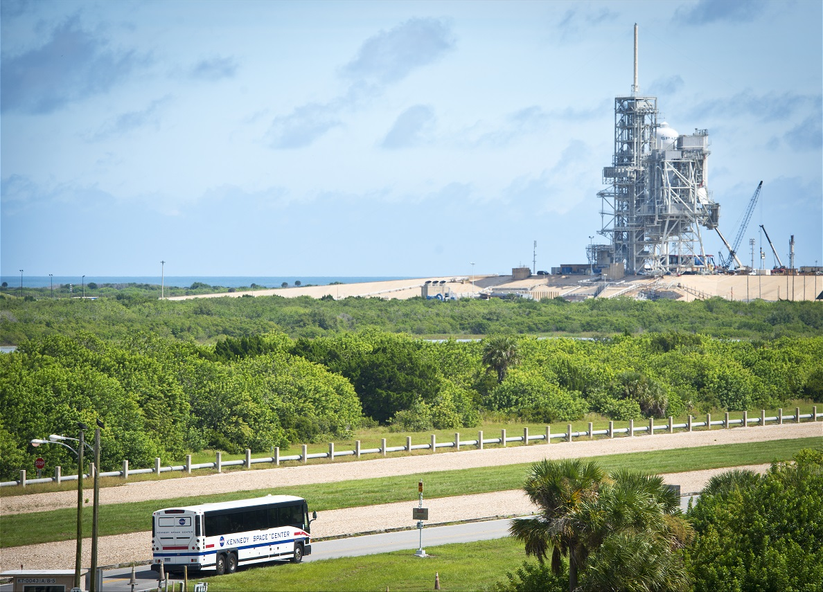 Bus Tours at the Kennedy Space Center