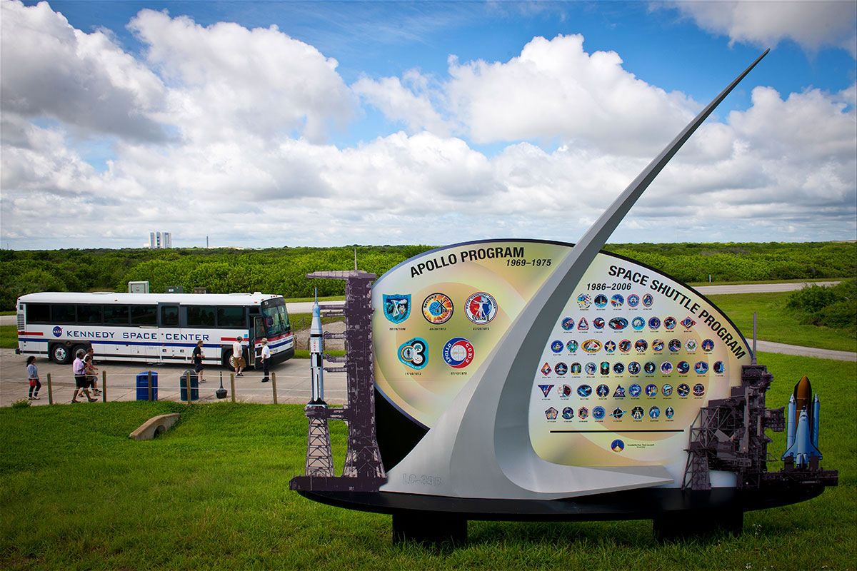 Image result for kennedy space center bus tour