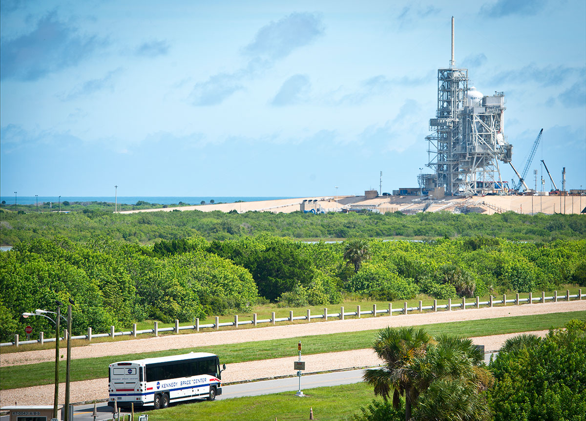 View of Launch Pad 1 from the KSC Bus Tour