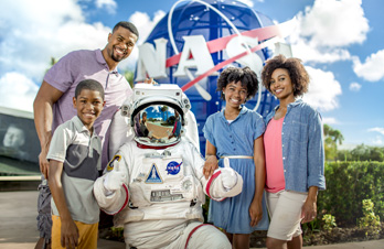 Family with NASA Astronaut