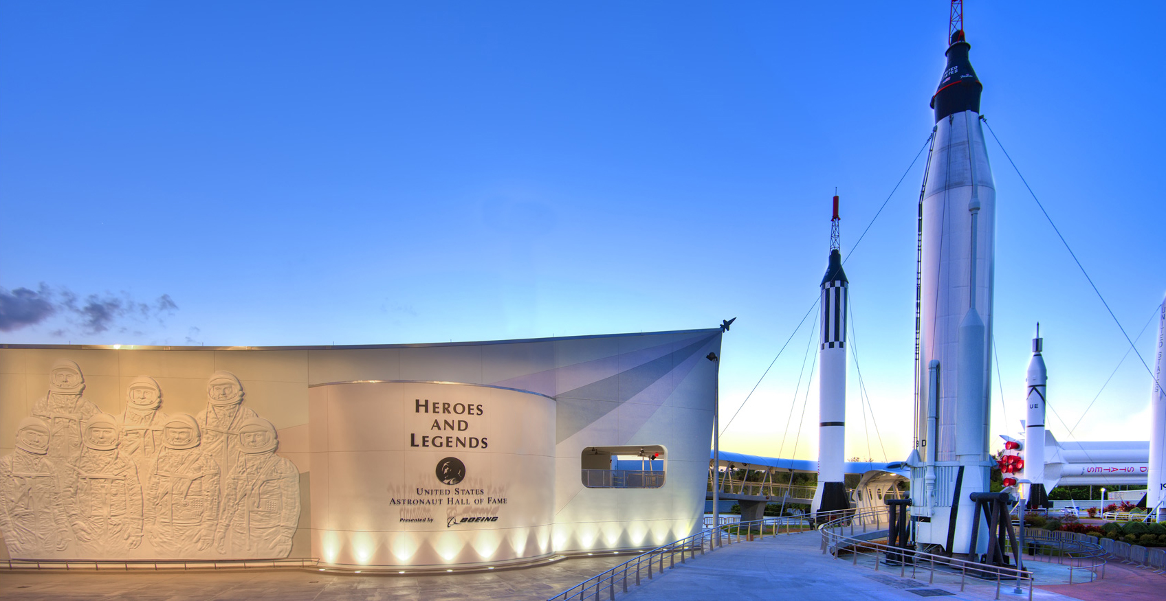Heroes and Legends at Kennedy Space Center Visitor Complex