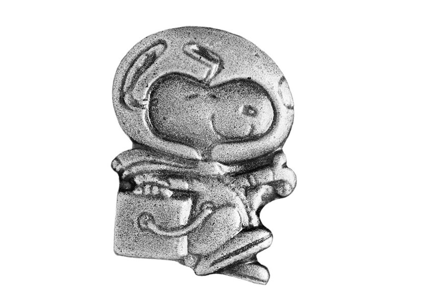 The Silver Snoopy award pin.