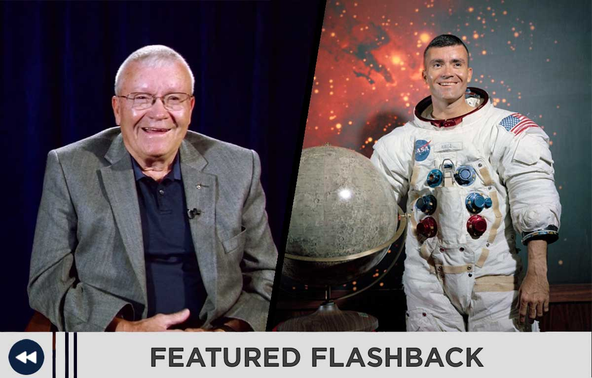 Featured Flashback with Apollo astronaut Fred Haise