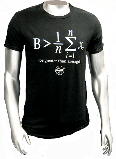 Be greater than the average t-shirt