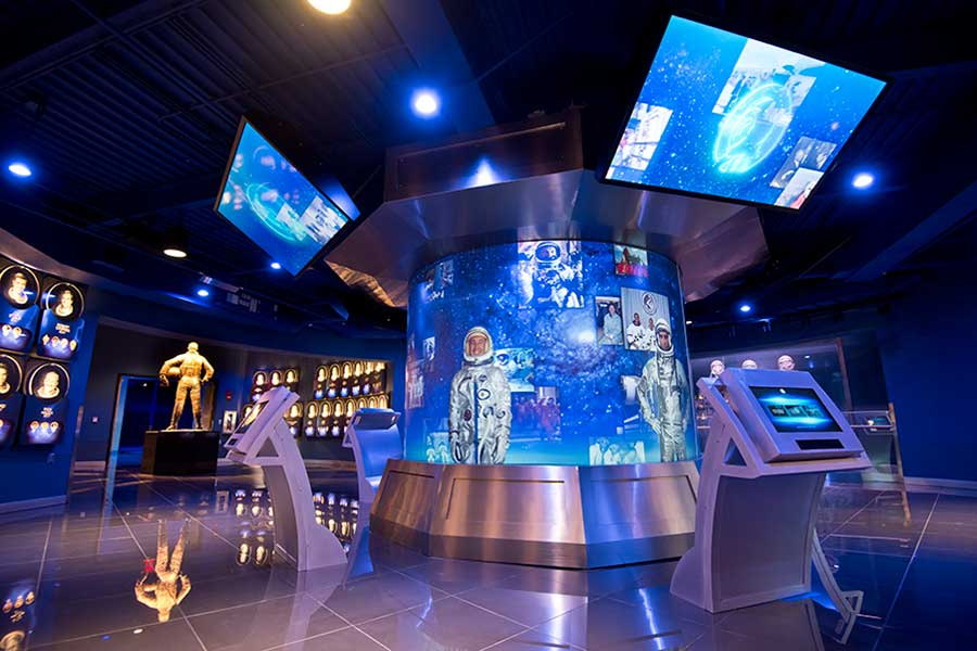 Astronaut Hall of Fame within Heroes and Legends