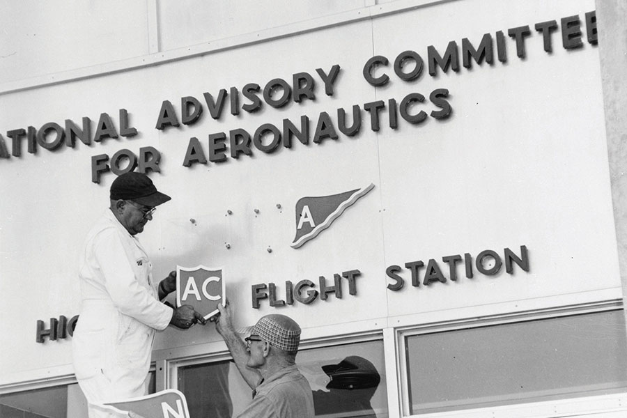 The NASA story began in 1958.