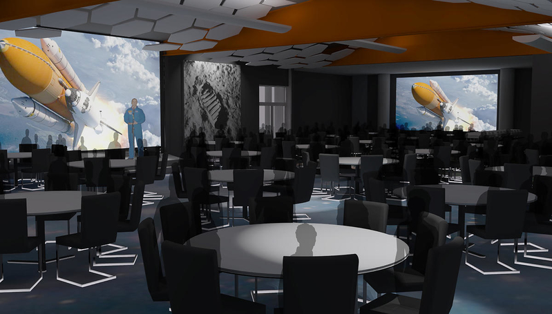 Lunch With An Astronaut, now Dine With An Astronaut is being updated for an all-new dining experience.