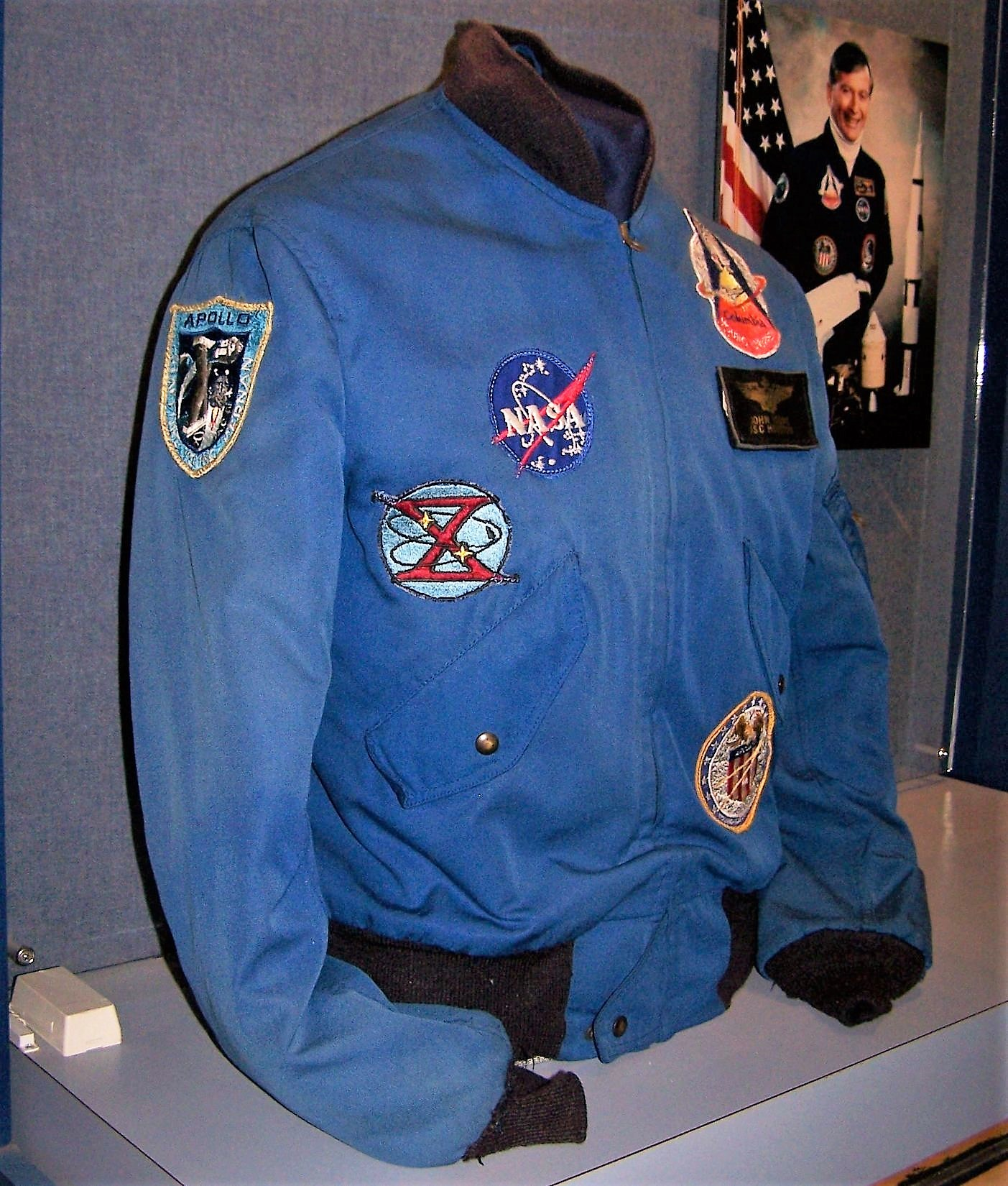 Artifacts from the former U.S. Astronaut Hall of Fame® recently found new homes in two stunning displays at the visitor complex, including John Young's Flight Jacket.