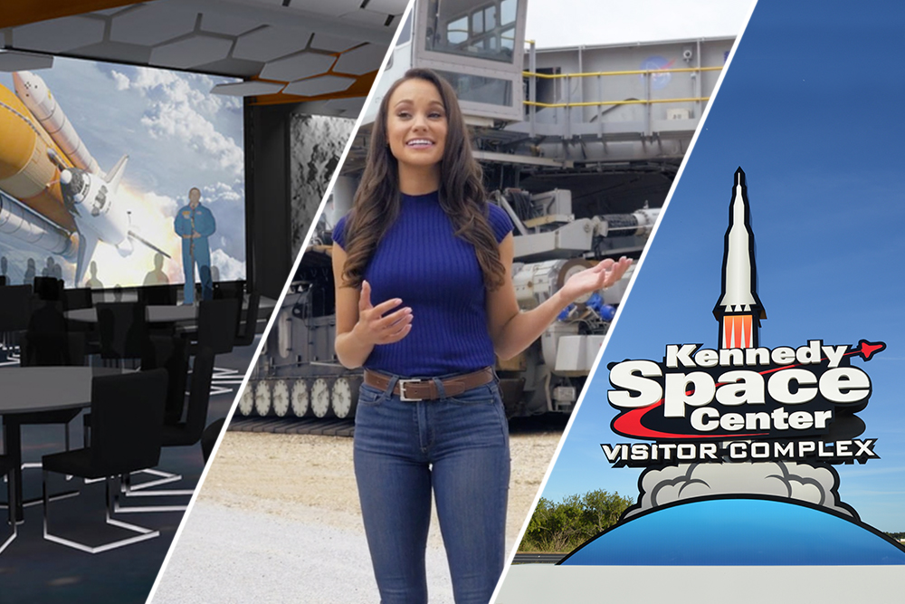 Kennedy Space Center Visitor Complex is opening many new and exciting offerings, including a new entrance and ticket plaza, an all new Dine With an Astronaut, and new Bus Tour videos!