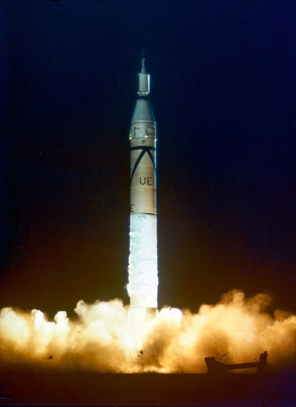 On January 31, 1958, America's first satellite, into orbit.