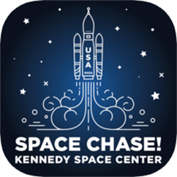 Space Chase Explore Kennedy Space Center app