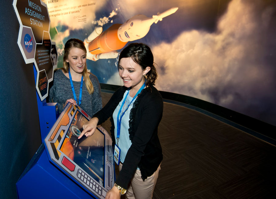 Enjoy Cosmic Quest with the whole family at Kennedy Space Center Visitor Complex.