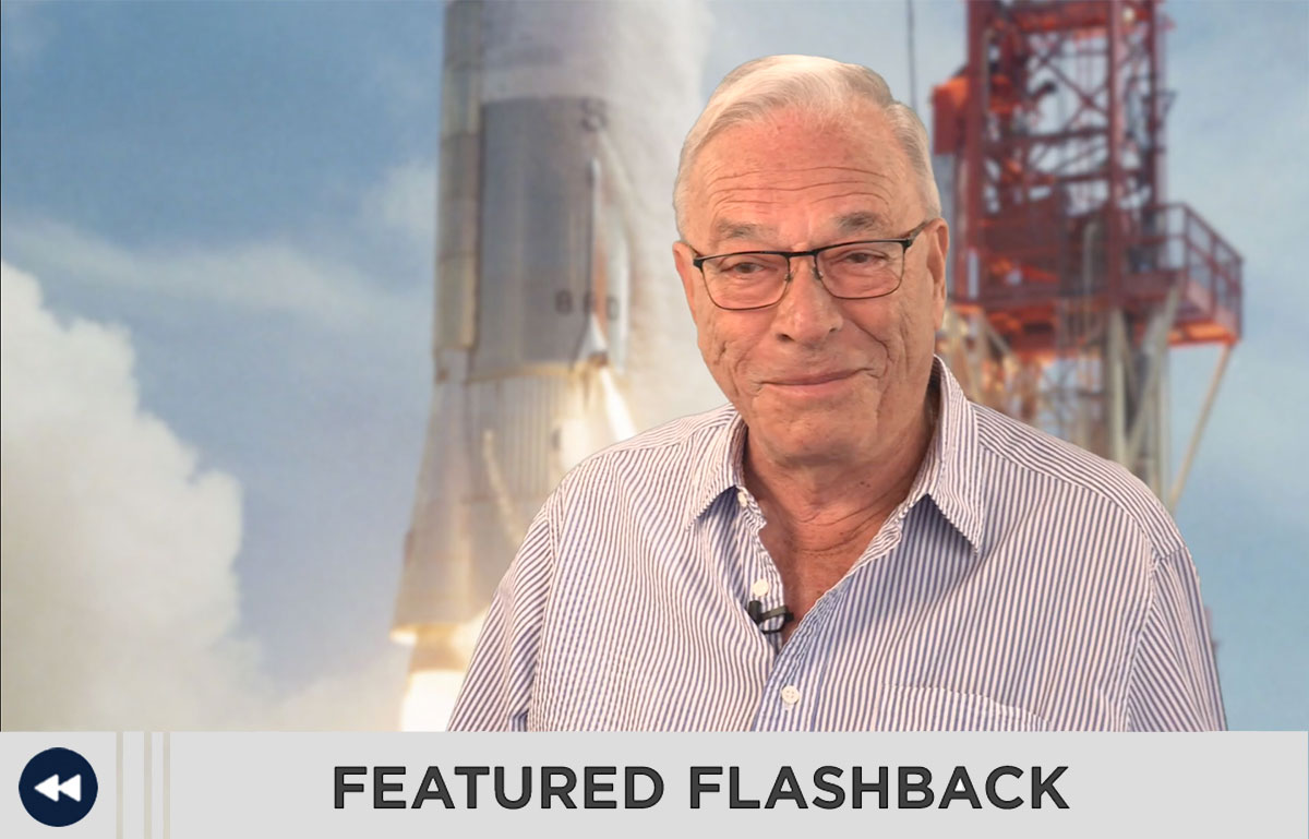 Emilio Powers describes the missing Apollo part in the Featured Flashback.