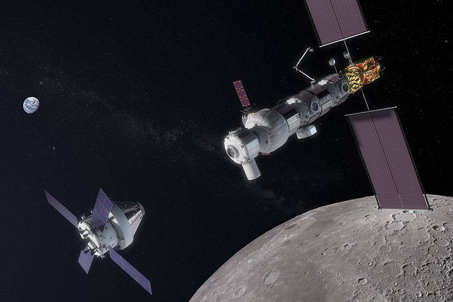 NASA Awards Artemis Contract for Lunar Gateway Power, Propulsion