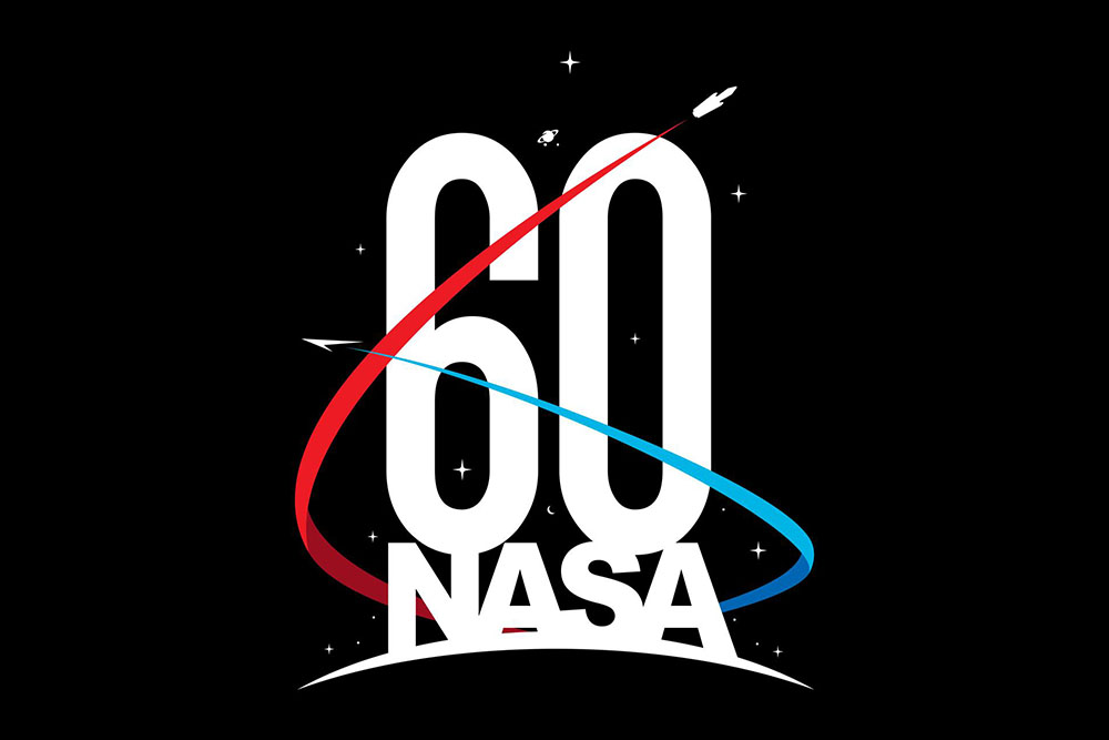 NASA 60th Anniversary Celebration logo