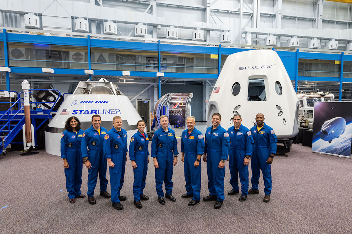 The 9 astronaut that have flight assignments for the commercial crew program.