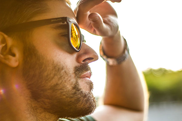 NASA Ames Research Center produced scratch-resistant sunglasses that filtered UV-rays and enhanced colors, to use in astronaut helmet visors.