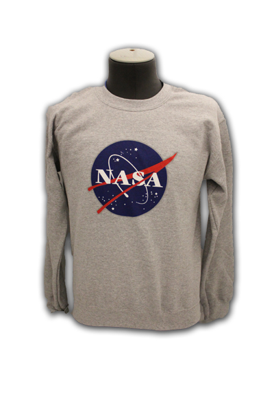 NASA Meatball logo sweatshirt available at the Space Shop