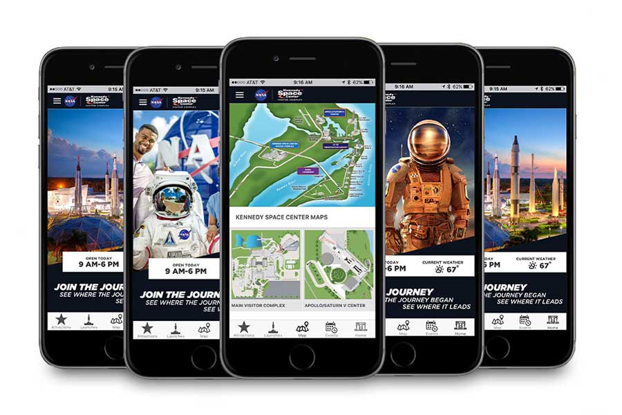 Kennedy Space Center Visitor Guide app