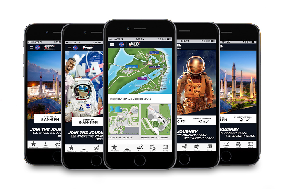 Kennedy Space Center Official Guide app