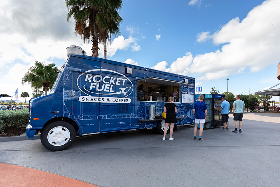 Rocket Fuel Truck at Kennedy Space Center Visitor Complex