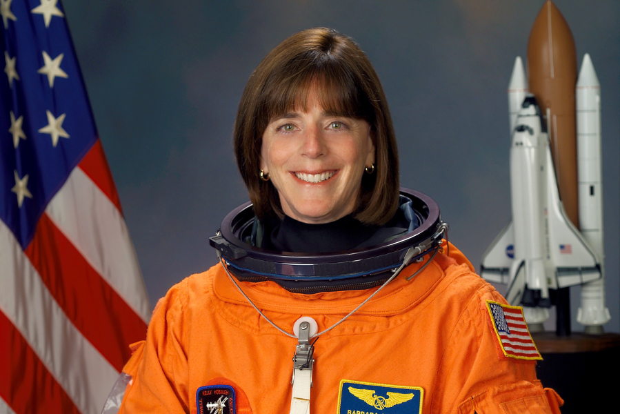 Astronaut Barbara Morgan