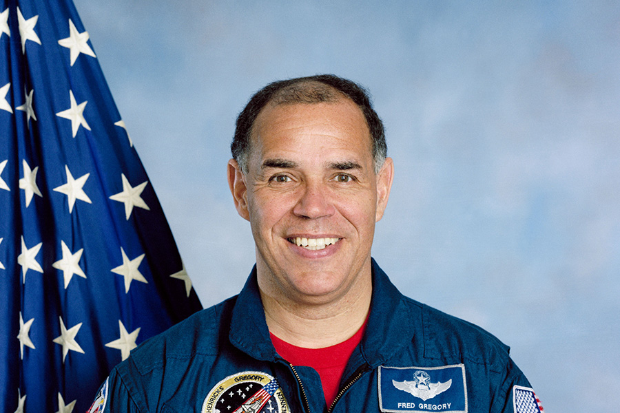 Astronaut Fred Gregory