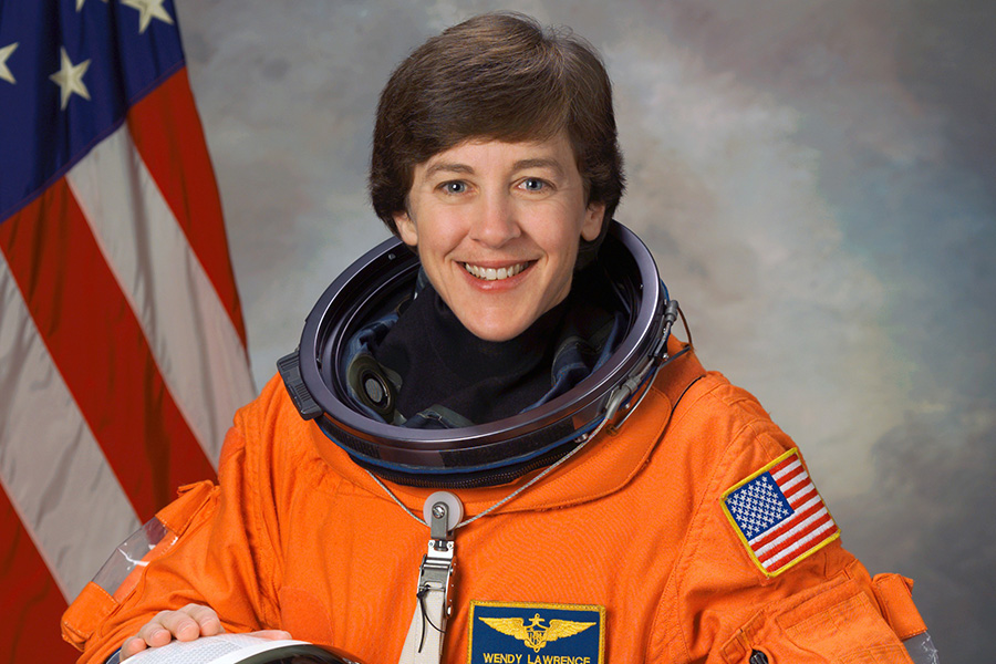 Astronaut Wendy Lawrence