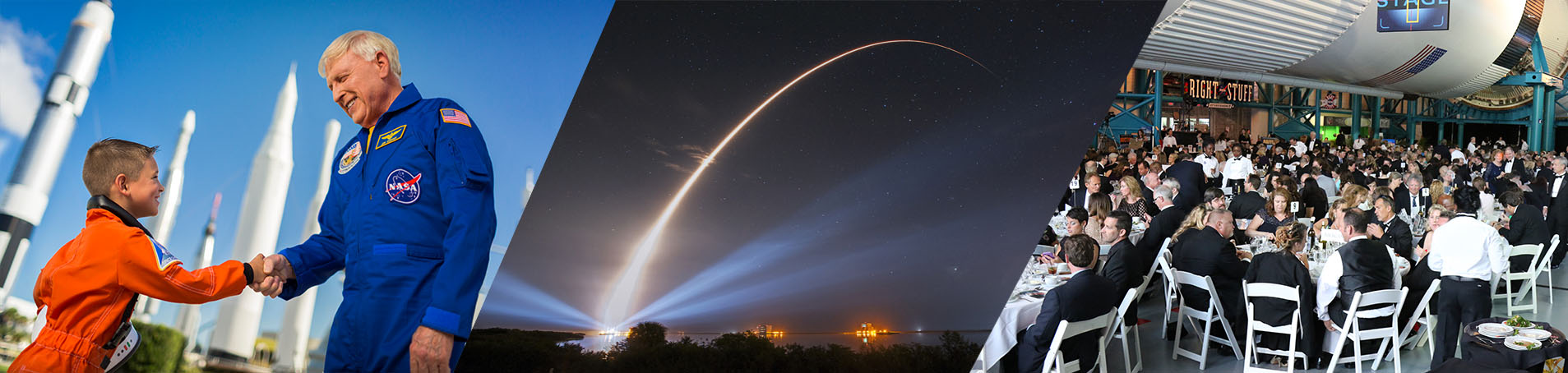 Kennedy Space Center launches and events header