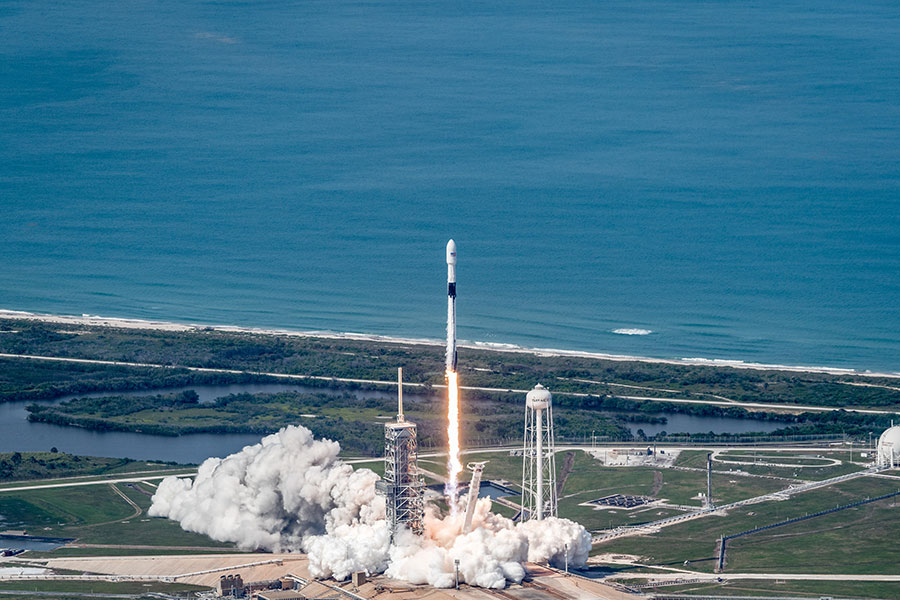 Rocket Launch: SpaceX Falcon 9 CRS-21