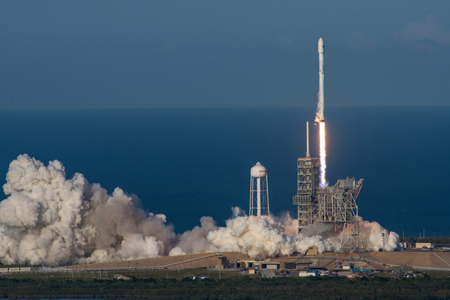 SpaceX SES-10 Rocket Launch