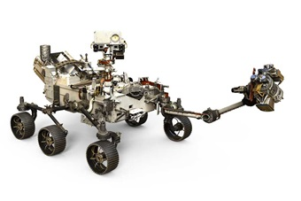 The Mars 2020 rover, Perseverance, is based on the Mars Science Laboratory