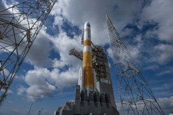 Image of a United Launch Alliance Delta 4 rocket
