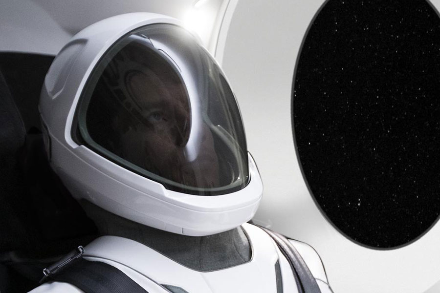 SpaceX unveiled its spacesuit that will be worn by astronauts aboard its Crew Dragon spacecraft during missions to and from the International Space Station.