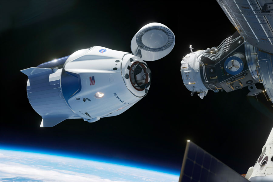Under the Commercial Crew Program, SpaceX will launch astronauts to the ISS from American soil.