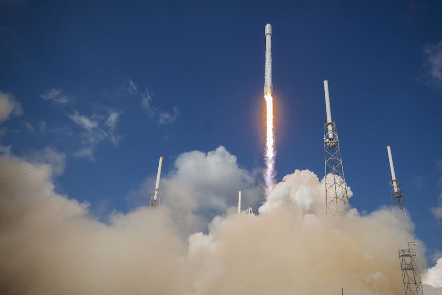 Rocket Launch: SpaceX Falcon 9 SES-16/GovSat 1 ...
