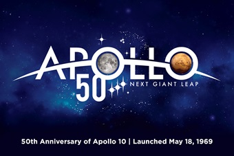 Apollo 50th anniversary of the Apollo 10, which launched May 18, 1969