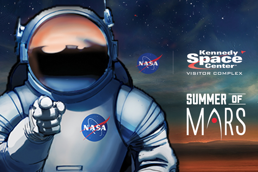 Summer of Mars at Kennedy Space Center Visitor Complex
