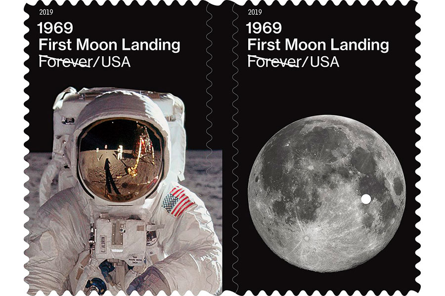 Apollo 50th anniversary stamp