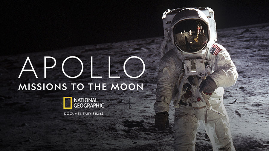 "Apollo: ""Missions to the Moon,"" a new film from National Geographic."