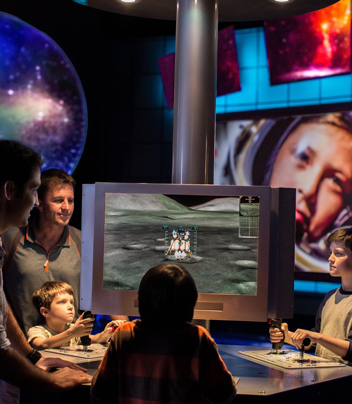 Journey to Mars: Explorers Wanted simulators
