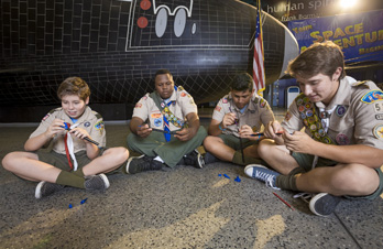 Scouts Salute to Science