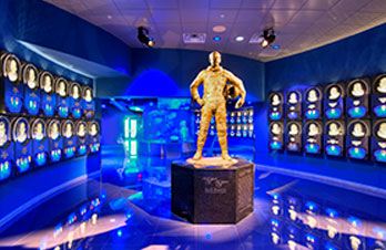 Host a unique event with venues such as Journey to Mars exhibit and the Heroes and Legends exhibit.