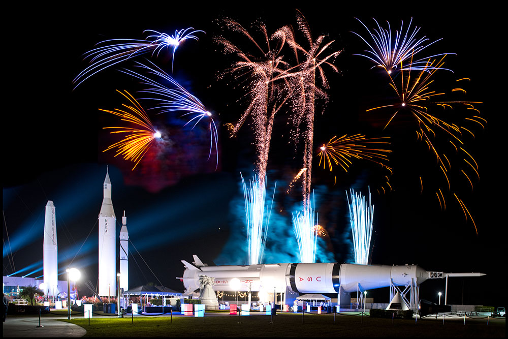 Host unique and exciting events at the Kennedy Space Center Visitor Complex, with many event venues and spaces for all of your needs.