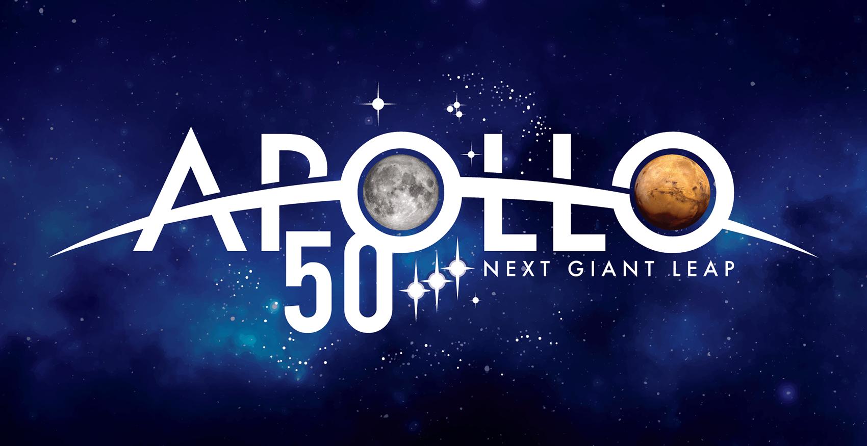 50th anniversary of the Apollo program including the moon landing of Apollo 11th