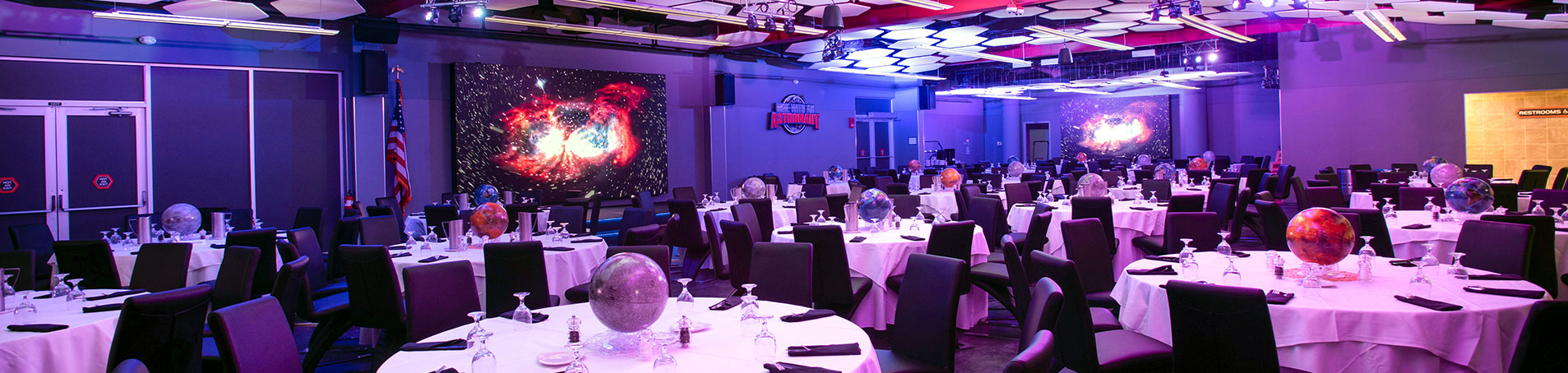 Interior of Dine With An Astronaut