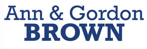 Ann & Gordon Brown logo