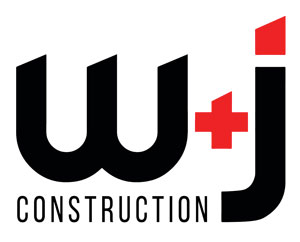 W + J Construction logo